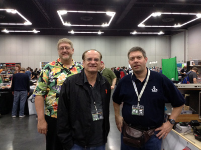 David Crane, Garry Kitchen and Paul Westphal