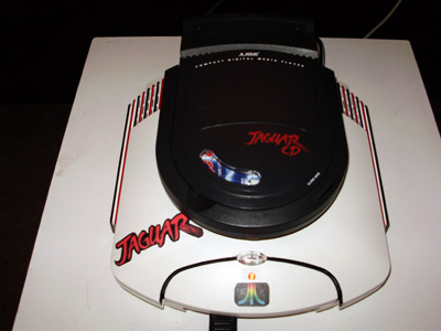 Custom modified Atari Jaguar CD