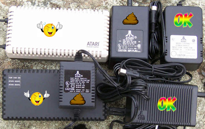 Atari 8-Bit Computer Power Supplies